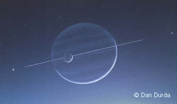 Ringed Planet Images Painting